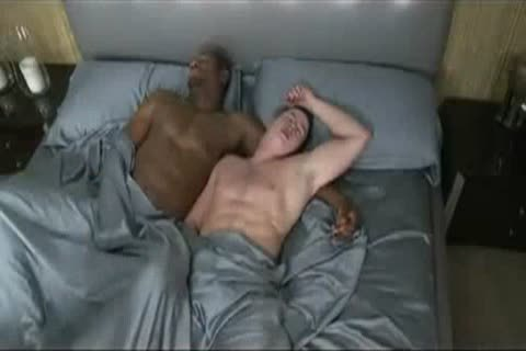 Sex in bed gay Touching Soft